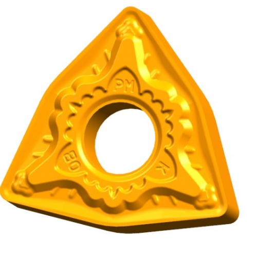 Semi-finishing turning inserts for steel