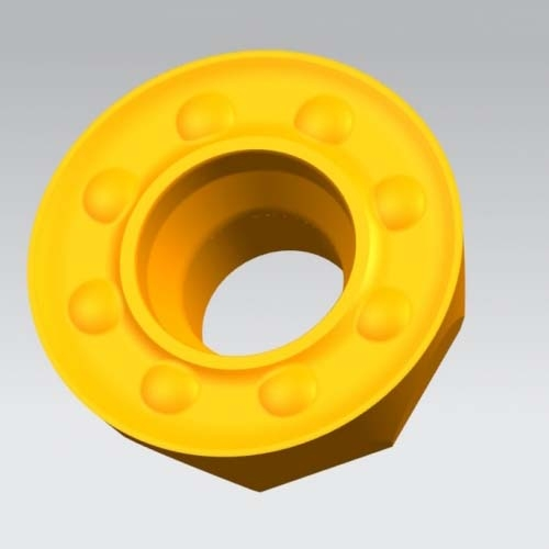 Circular milling inserts