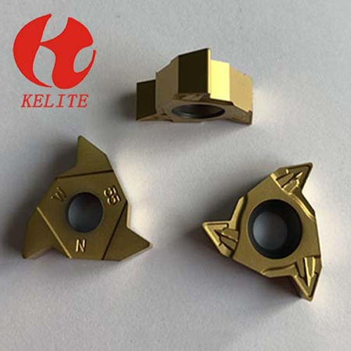 high strength Carbide Threading Inserts sharp cutting edge CNC Cutting Tools